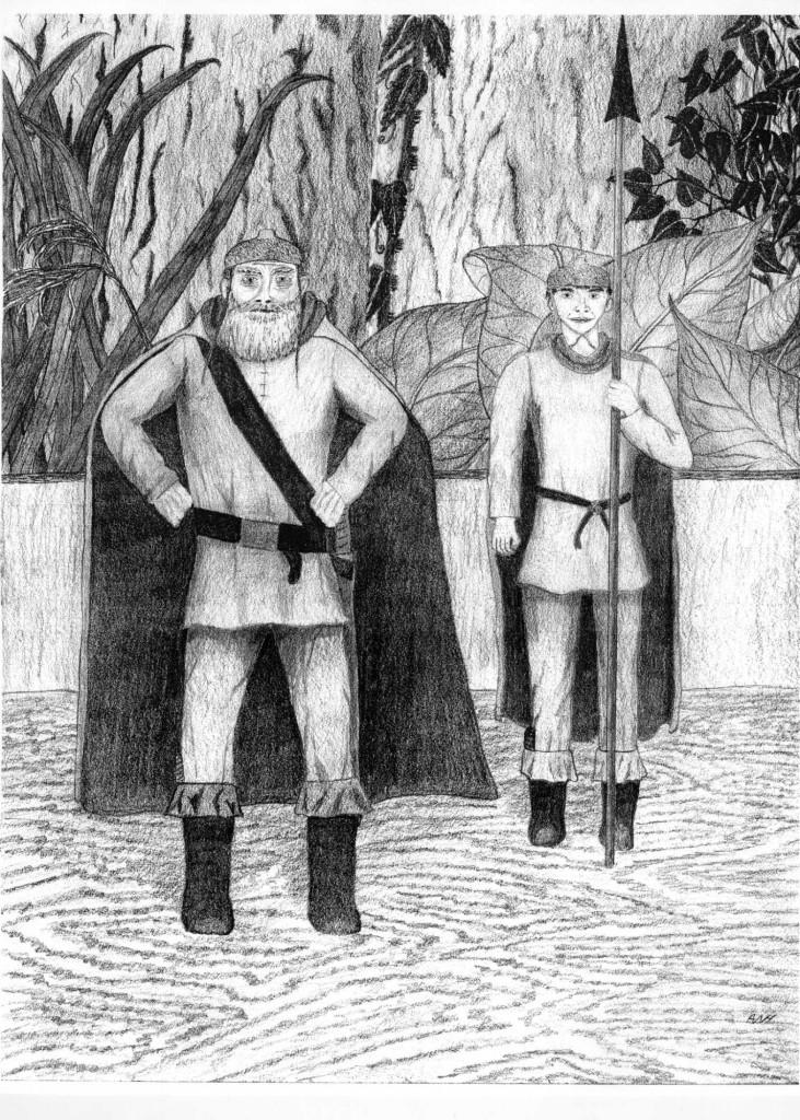 Charlock and Poke